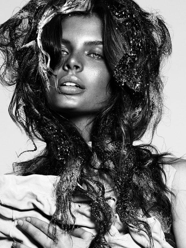 Female Hair Model