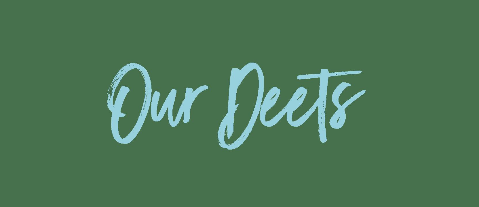 Our Details Title