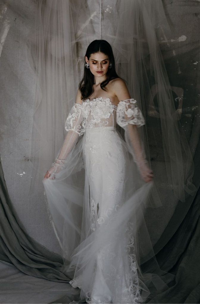 Sant Elia Bridal Styling Model