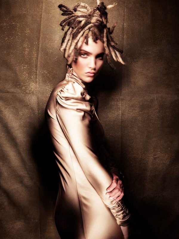 Savage Beauty Model Hair
