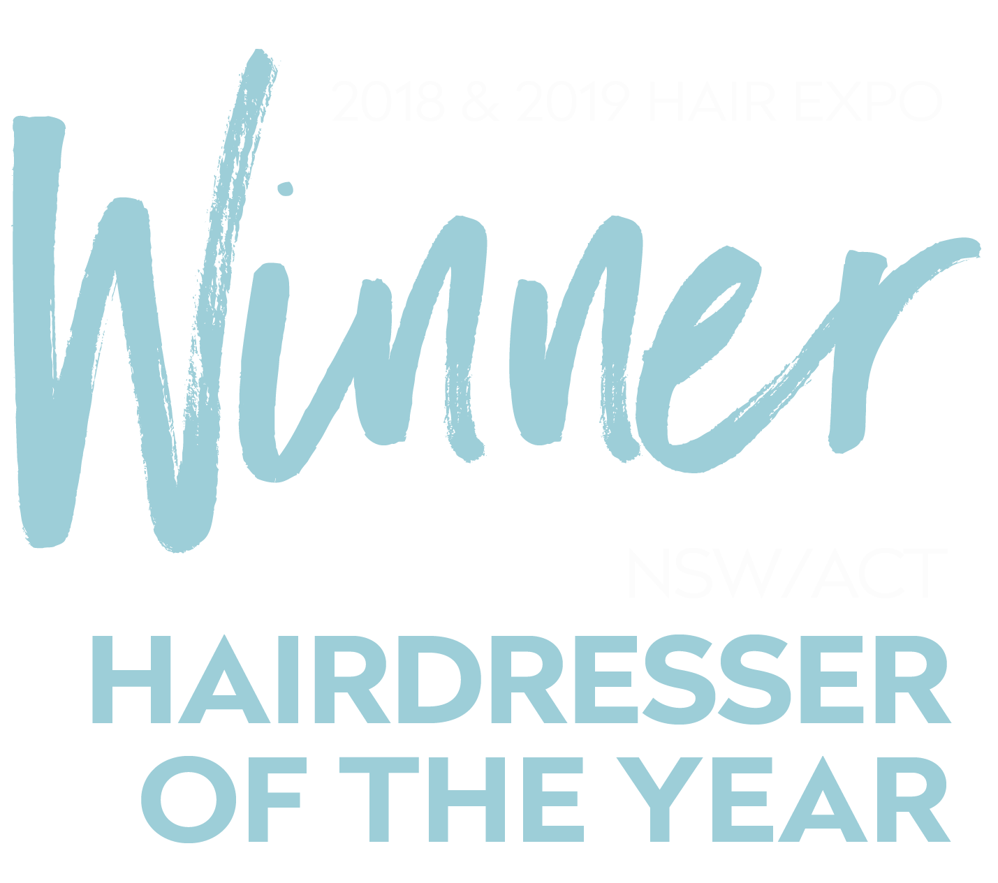 Hair Expo NSW ACT Hairdresser of the Year 2019